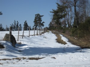 hivers rigoureux à la Chaze de Peyre en Lozère